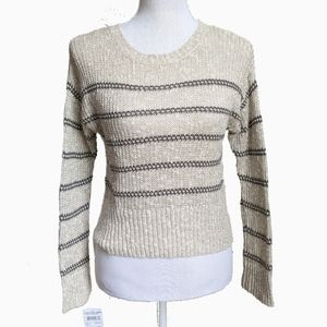 NWT TUCKER + TATE | KNIT STRIPE SWEATER